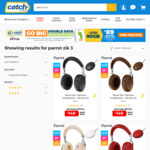 Parrot Zik 3 Wireless Headphones + Wireless Qi Charger $149 + Delivery (Free with Club Catch Membership) @ Catch