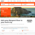 Jetstar Sale: MEL/SYD to PER from $125/ $135 One Way Direct, Dates from 15 Oct-6 Dec, 22 Jan-10 Apr '19