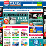 Chemist Warehouse - Free Shipping on All Fragrances This Father's Day