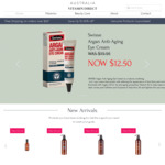 SWISSE Argan Anti-Aging Eye Cream 15ml $12.50 (Was $14.95) Delivered (w/ $49 spend) @ Australia Vitamin Direct
