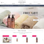 Free  Microfibre Towel with Purchase of FicceCode Organic Macadamia Oil Hair Care Duet $30.99 + Post @ Australia Vitamin Direct