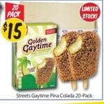 [VIC] Golden Gaytime 'Pina Colada' 20pk $15 @ NQR