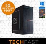 Ryzen 5 2600 / GTX 1060 6GB / 240GB SSD / 8GB RAM Gaming PC: $797.05 Delivered @ TechFast eBay