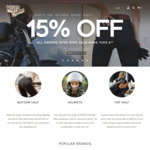 Ladies & Unisex Motorcycle Clothing & Gear - 15% off Store Wide & Free Shipping on Orders over $150 @ Moto Femmes