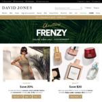 [Click Frenzy] David Jones - Free Shipping