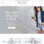 Click Frenzy - Decjuba 30% off Full Priced Items (Excludes Sale) - Free Shipping Over $150
