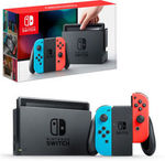 Nintendo Switch Console - Neon $379.05 Delivered @ The Gamesmen eBay