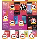 Telstra $30 Starter Kit $10 30GB, Boost $50 Starter Kit $20 55GB @ Coles