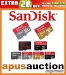 SanDisk Ultra 100MB/s MicroSD 128GB $29.88 Delivered, Samsung Evo Plus 128GB $26.36 (eBay Plus) @ Apus Auction eBay