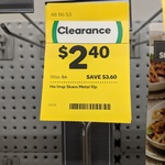 [VIC] Stainless Steel Skewers 25cm - 10 Pack $2.40 (Was $6) @ Woolworths Oakleigh South