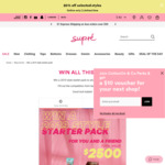 Win a Summer Styling Pack Worth $2,580 from Supré