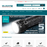 Australia Day Sale - 20% off All Flashlights and Gear Storewide @ Olight Australia