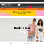 20% off Sitewide @ ASOS