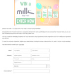 Win 1 of 2 Milk & Co Baby Packs Worth $85.75 from Seven Network