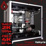 Project: Valkyrie - Hardline Water Cooled PC (8700k/RTX 2080/16GB/500GB SSD) from $3,950 + Free Shipping @ Cat's Custom PCs