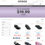 Crocs Easter Sale - Clogs at $19.99 with Free Shipping