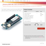 TelstraDev Exclusive - Arduino MKR NB 1500 for $119 – Plus 10MB Free Data Per Month (up to 29/09/2019)