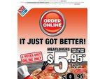 Meatlovers Domino's $5.95 Online Only 2 Weeks