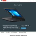 "ThinkPad E495 / 14"" FHD / AMD Ryzen 5 3500U / 256GB SSD / 8GB RAM / $749 Shipped @ Lenovo"