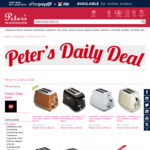 DeLonghi Toasters & Kettles up to 60% off @ Peter's of Kensington