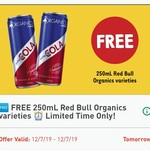 Free - Red Bull Organics 250ml @ 7-Eleven via Fuel App