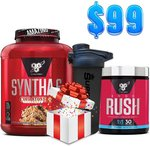 Syntha-6 Protein Powder + Pre-Work out + Freebie $99 + Delivery (Free over $100 Spend) @ SuppKings Nutrition