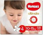 [Amazon Prime] Huggies Ultimate Size 4 (10-15kg) 58 pk $22.50 Delivered @ Amazon AU