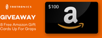 Win 1 of 8 $100 Amazon Gift Cards from SunValley Group