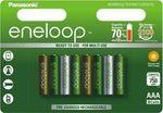 8x Panasonic Eneloop AAA Rechargeable LSD NiMH Batteries - 4th Gen $27.99 Delivered @ Batterymates eBay