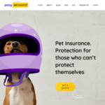 Buy 12 Months, and Get 2 Months Free Pet Insurance and Engraved Pet Tag @ Petsy