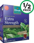 1/2 Price Dilmah Extra Strength Tea Bags 100 Pack $3.20 @ Woolworths