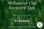 $3 Bonus Cashback with Minimum $5 Spend (Groupon, Menulog, iHerb, Cellarmasters, Expedia) @ Cashrewards
