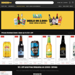 Stone Brewing Go to IPA 24x473mL Can $59.99 (Was $112.79) + More @ Boozebud