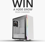 Win a Thermaltake H200 Snow RGB Chassis from Thermaltake ANZ