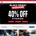 40% off Sitewide (Exclusions Apply) @ New Balance