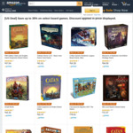 Pandemic Legacy $54.28, Agricola $57.90 and More + Delivery (Free with Prime) @ Amazon US via AU
