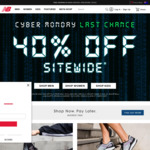 40% off Sitewide (Full Priced Products Only, Exclusions Apply) + Free Shipping @ New Balance