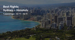 Honolulu, Hawaii from Sydney $393 Return, Melbourne $409 Return on Jetstar @ Beat That Flight (Oct-Dec)