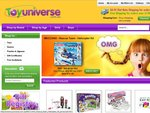 5% Discount on Toys and Games at ToyUniverse.com.au - Boys and Girls Toys Ages 5 Plus