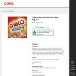 ½ Price Chiko Rolls 4pk $2.67, Lotus Biscoff Spread 400g $2.75 @ Coles