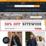 Free Shipping + 30% off @ Johnny Bigg