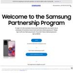 Samsung Galaxy S20 4G 128GB $944.30, S20 5G 128GB $1049.30, S20+ 4G 128GB $1049.30, S20+ 5G 128GB $1154.30 @ Samsung EPP / EDU