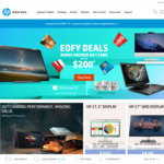 10% off Sitewide (Min Spend $500) @ HP Online Store