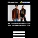 Win a Universal Store Wardrobe & $1,000 Total Tools Gift Card from Universal Store