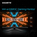 "Win a Gigabyte G32QC 32"" Curved 165Hz 1440p Gaming Monitor Worth $599 from AORUS"