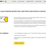 CommBank Rewards - Bonus 20% Award Points for Cash