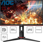 "[eBay Plus] AOC 24G2 24"" FHD IPS HDR Freesync 144hz 1ms Monitor $276 Delivered @ Shopping Express eBay and $40 Steam gift card"