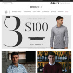 3 Career Shirts $100 Delivered @ Brooksfield Australia