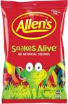 Allen's Snakes Alive Bulk Bag Lollies 1.3kg $8.67 + Delivery ($0 with Prime/ $39 Spend) @ Amazon AU