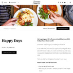 50% off Food and Drinks Orders Between 5:30pm-6:30pm at Australian Venue Co (Australia Wide)